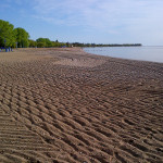 The shores of Lake Winnipeg in Gimli, Manitoba