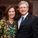 The Senator with Prime Minister Harper. Photo courtesy the Office of the Prime Minister