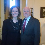 With Arizona Senator John McCain