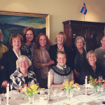 Ladies Lunch with Mrs. Anna Birgis Hannesson, wife of the Consul General of Iceland in Winnipeg, Manitoba, Nov. 14, 2014. - Hosted by the Icelandic Consulate in Manitoba. The attendees are all women of distinction in business, politics and the arts.