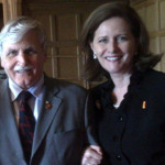 With Senator Dallaire