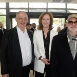 With famous Canadian director Norman Jewison and James Simpson at TIFF.