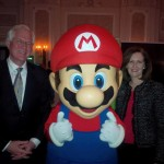 With MP Terence Young at the Entertainment Software Association of Canada (ESAC) Video Game Industry Showcase.